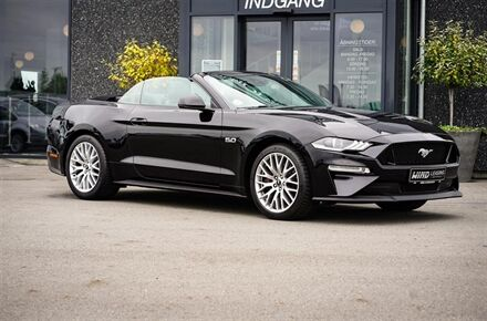 Ford Mustang 5,0 Ti-VCT 55 450HK Cabr. 10g Aut. - Leasing